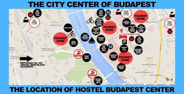 Albergue  Budapest Center