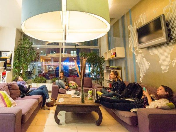 Albergue wombat's CITY s Vienna – the LOUNGE