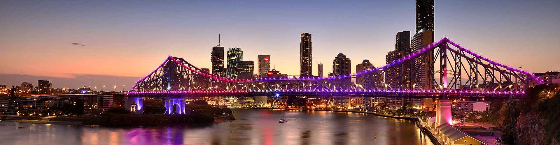 Brisbane – Albergues no Highgate colina bairro. Maps for Brisbane, Photos and Reviews for each Hotel in Brisbane.