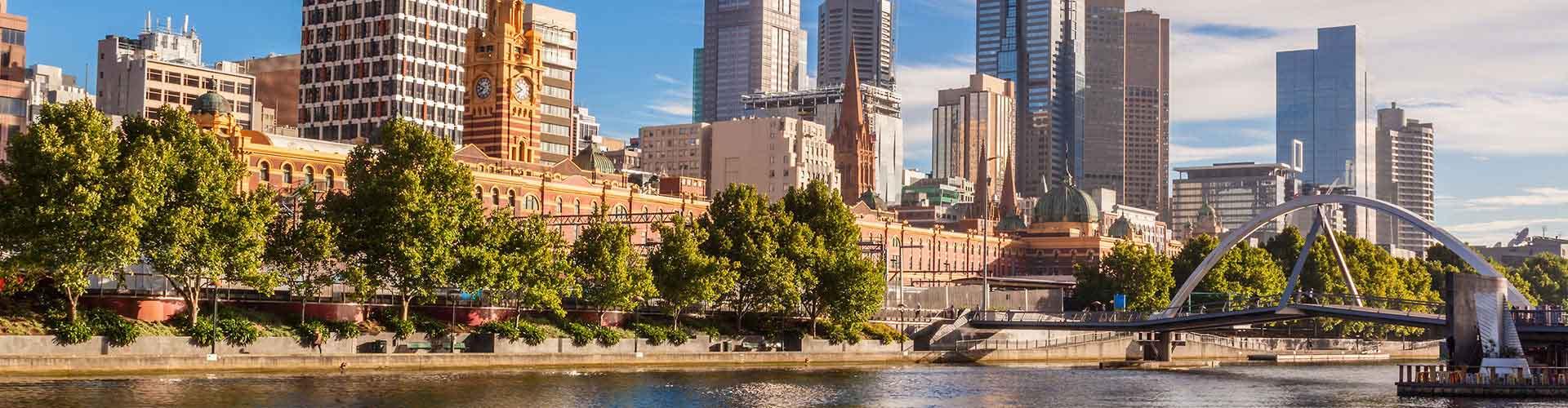 Melbourne – Albergues no bairro de Melbourne . Mapas para Melbourne, Fotos e Avaliações para cada Albergue em Melbourne.