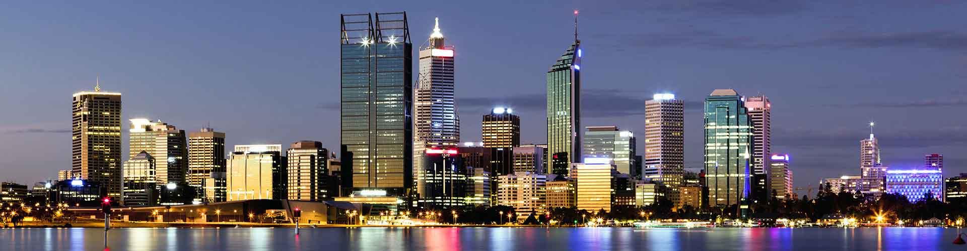 Perth – Quartos no Perth Central Distrito de Negócios bairro. Mapas para Perth, Fotos e Avaliações por cada quarto em Perth.