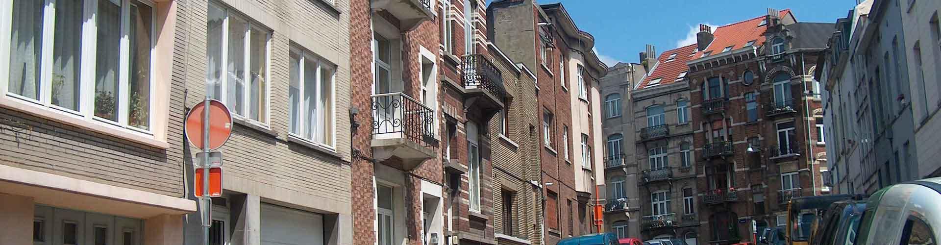 Bruxelas – Albergues no bairro de Saint-Josse-ten-Noode . Mapas para Bruxelas, Fotos e Avaliações para cada Albergue em Bruxelas.