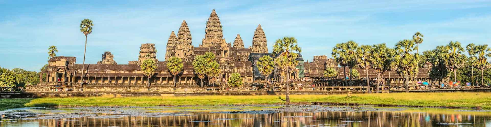 Siem Reap – Albergues em Siem Reap. Mapas para Siem Reap, Fotos e Avaliações para cada Albergue em Siem Reap.