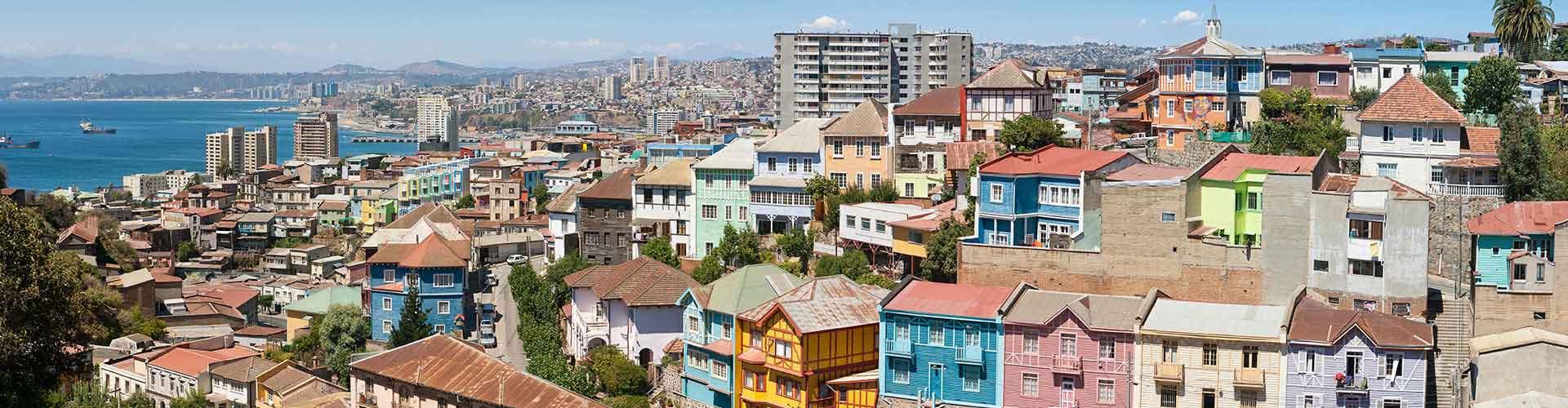 Valparaiso – Albergues em Valparaiso. Mapas para Valparaiso, Fotos e Avaliações para cada Albergue em Valparaiso.