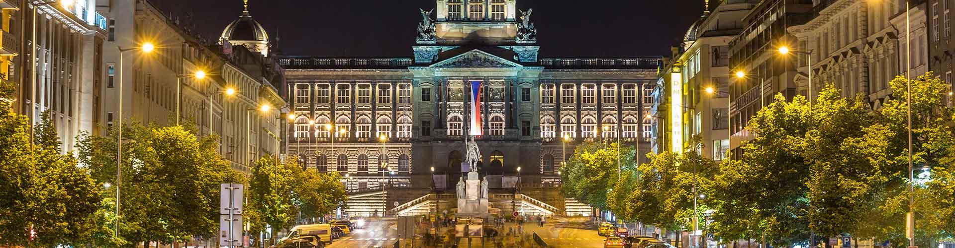 Praga – Albergues próximos a Museu Nacional e Hotel Europa. Mapas para Praga, Fotos e Avaliações para cada Albergue em Praga.