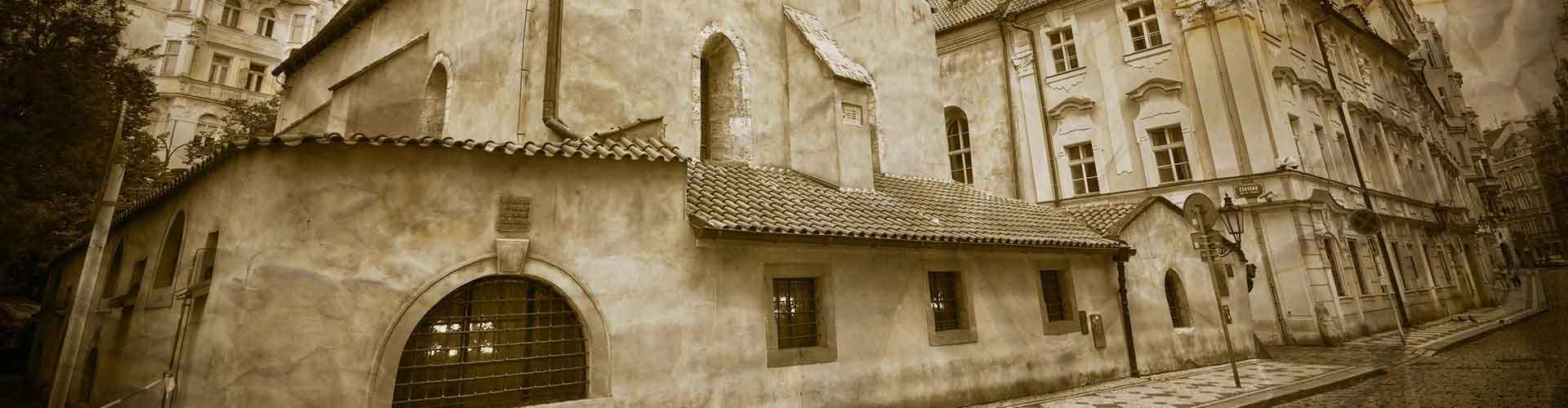 Praga – Albergues próximos a Nova Sinagoga Velha. Mapas para Praga, Fotos e Avaliações para cada Albergue em Praga.