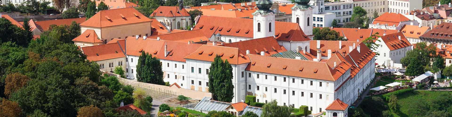 Praga – Albergues próximos a Mosteiro Strahov. Mapas para Praga, Fotos e Avaliações para cada Albergue em Praga.