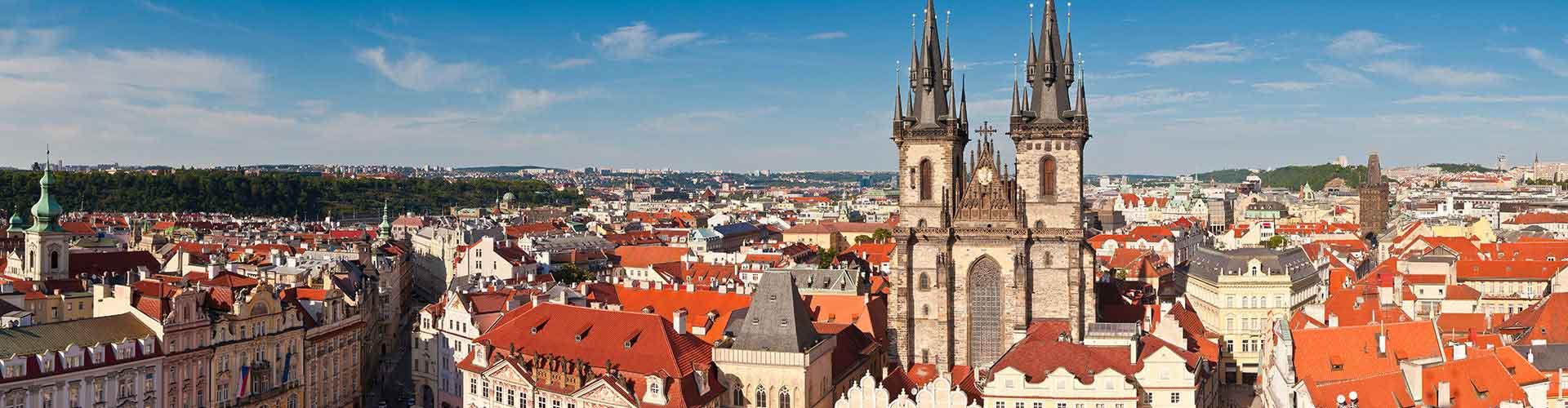Praga – Albergues próximos a Igreja Tyn. Mapas para Praga, Fotos e Avaliações para cada Albergue em Praga.