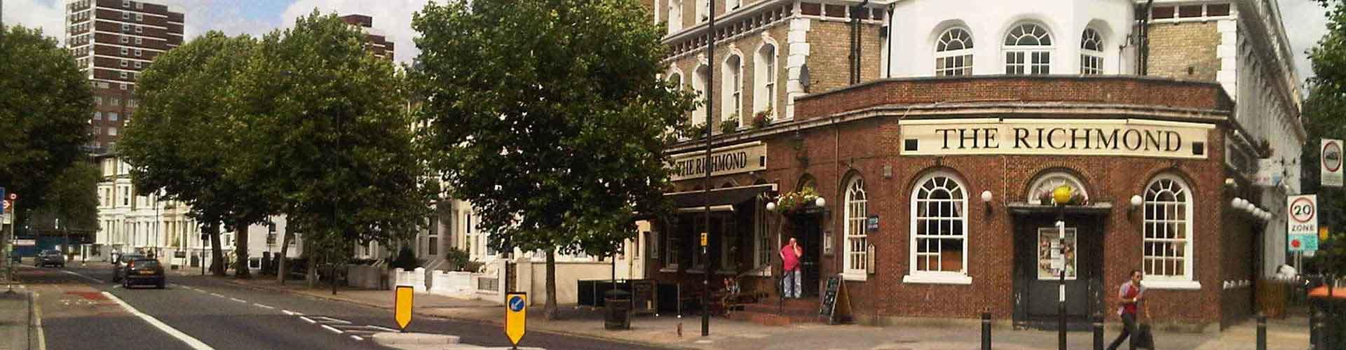 Londres – Albergues no bairro de Bairro de Hammersmith e Fulham . Mapas para Londres, Fotos e Avaliações para cada Albergue em Londres.