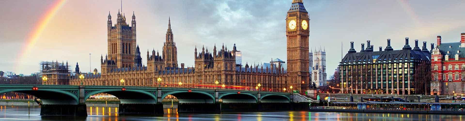 Londres – Albergues no bairro de Borough de oestminster . Mapas para Londres, Fotos e Avaliações para cada Albergue em Londres.