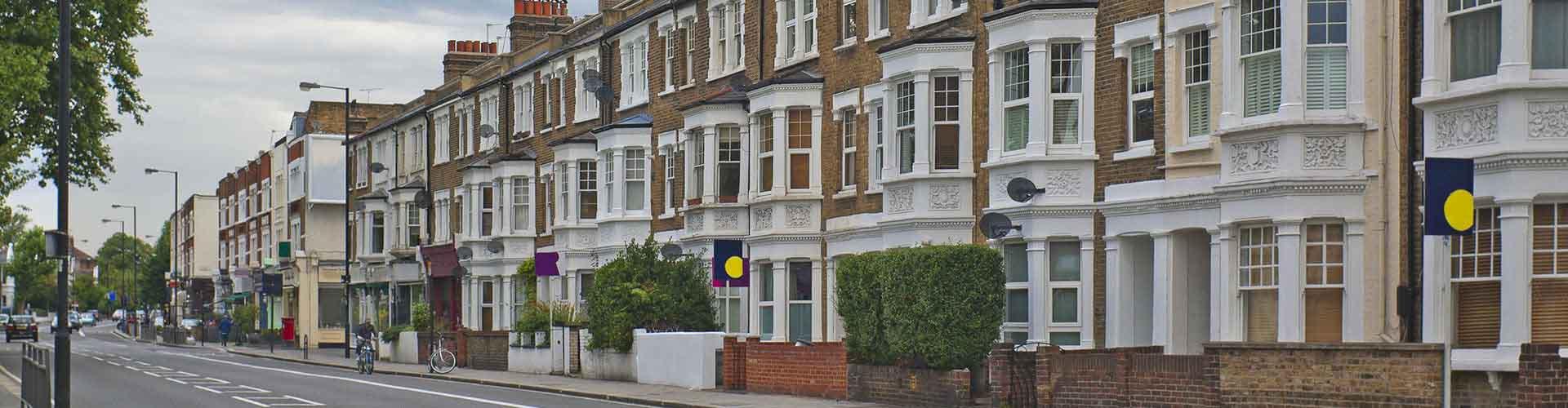Londres – Albergues no bairro de Fulham . Mapas para Londres, Fotos e Avaliações para cada Albergue em Londres.