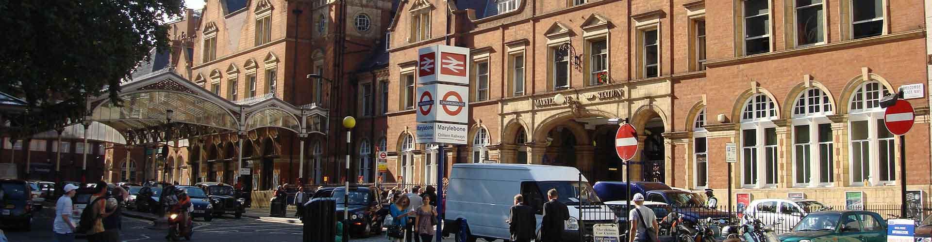 Londres – Albergues no bairro de Marylebone . Mapas para Londres, Fotos e Avaliações para cada Albergue em Londres.