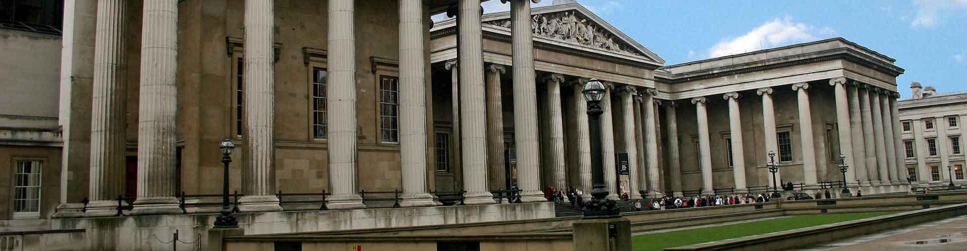 Londres – Albergues próximos a British Museum. Mapas para Londres, Fotos e Avaliações para cada Albergue em Londres.