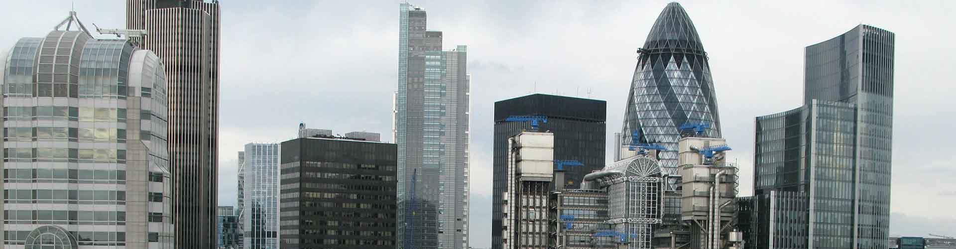 Londres – Albergues próximos a Lloyd's Building. Mapas para Londres, Fotos e Avaliações para cada Albergue em Londres.