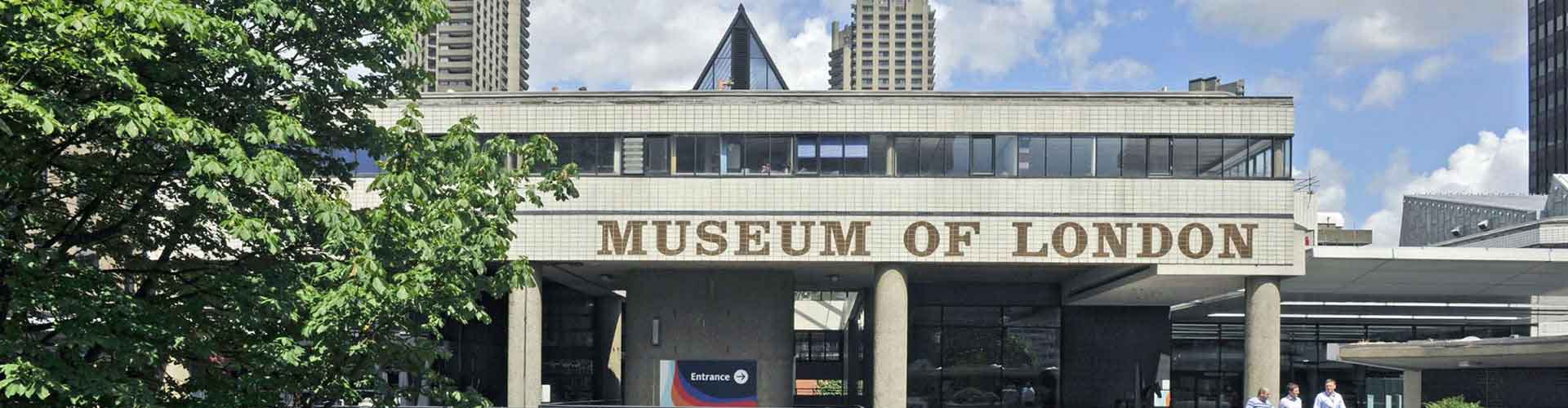 Londres – Albergues próximos a Museu de Londres. Mapas para Londres, Fotos e Avaliações para cada Albergue em Londres.