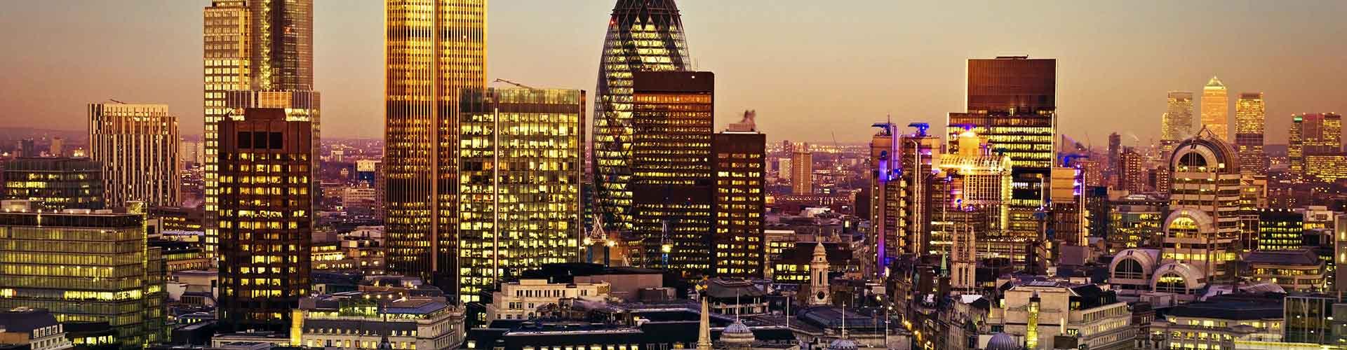 Londres – Albergues próximos a Torre 42. Mapas para Londres, Fotos e Avaliações para cada Albergue em Londres.