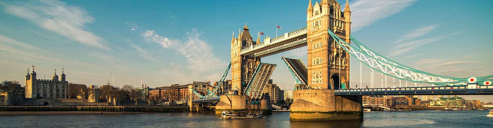 Londres – Albergues próximos a Tower Bridge. Mapas para Londres, Fotos e Avaliações para cada Albergue em Londres.
