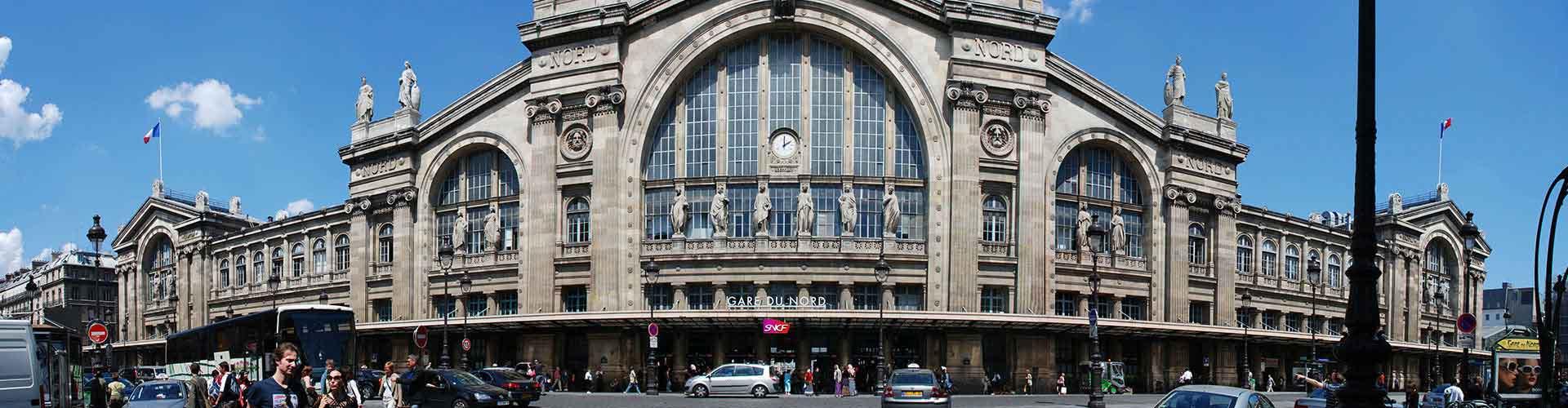 Paris – Albergues no bairro de Norte Station . Mapas para Paris, Fotos e Avaliações para cada Albergue em Paris.