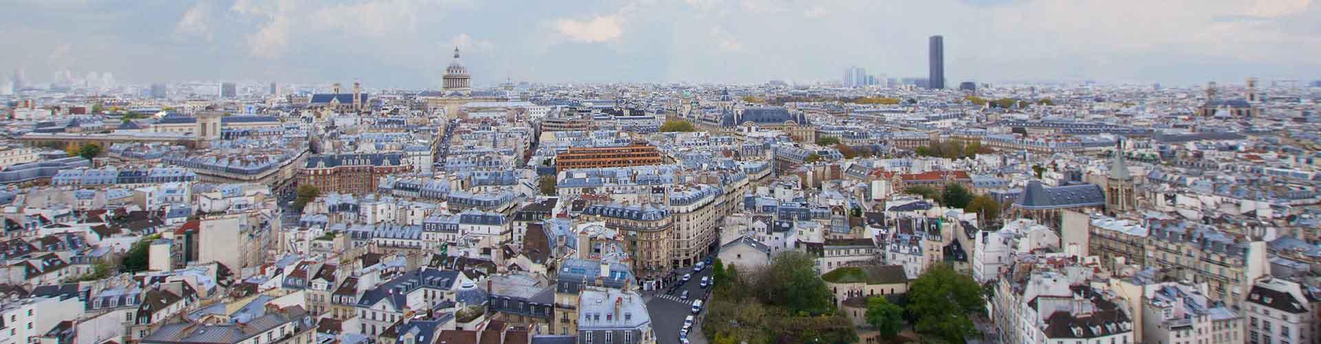Paris – Albergues no bairro de Quartier Latin . Mapas para Paris, Fotos e Avaliações para cada Albergue em Paris.