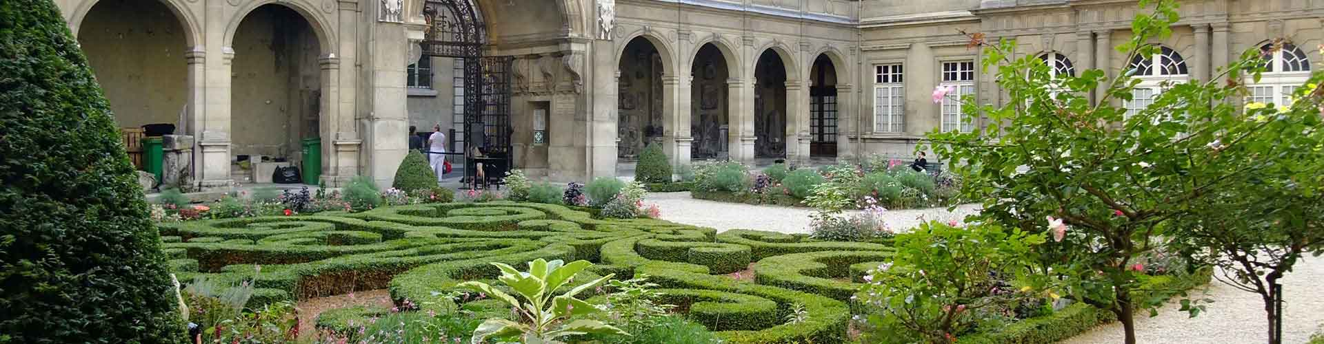 Paris – Albergues próximos a Museu Carnavalet. Mapas para Paris, Fotos e Avaliações para cada Albergue em Paris.