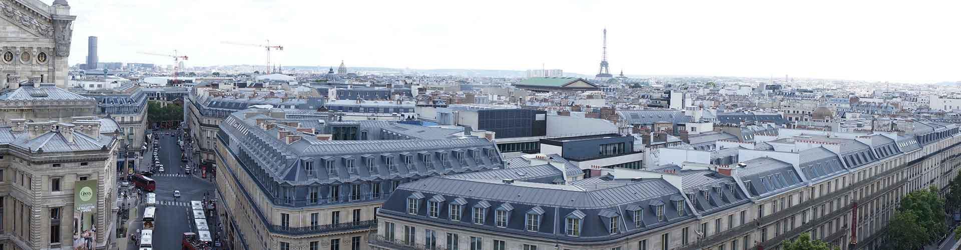 Paris – Albergues próximos a Galeries Lafayette. Mapas para Paris, Fotos e Avaliações para cada Albergue em Paris.