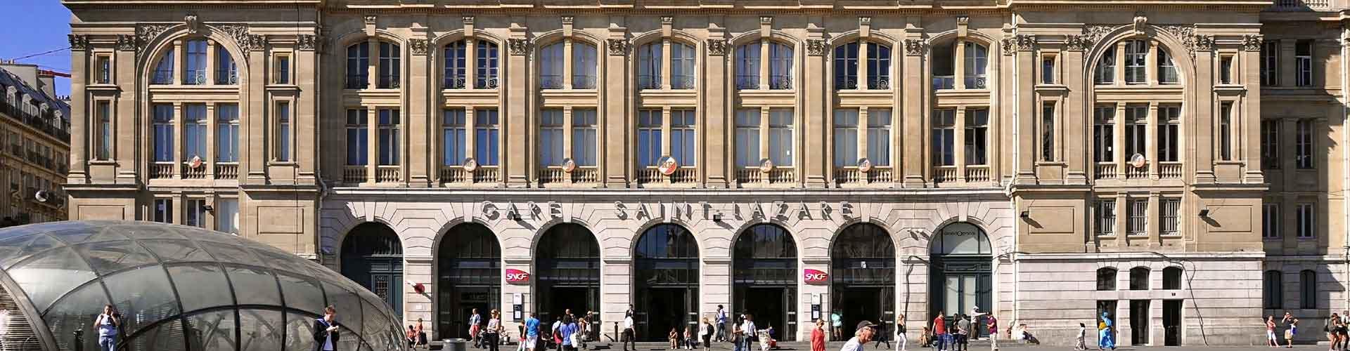 Paris – Albergues próximos a Gare Saint-Lazare. Mapas para Paris, Fotos e Avaliações para cada Albergue em Paris.