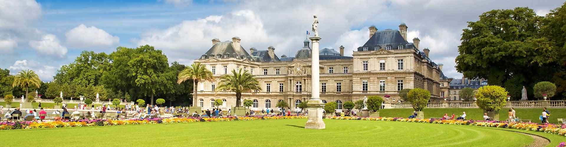 Paris – Albergues próximos a Jardin du Luxembourg. Mapas para Paris, Fotos e Avaliações para cada Albergue em Paris.