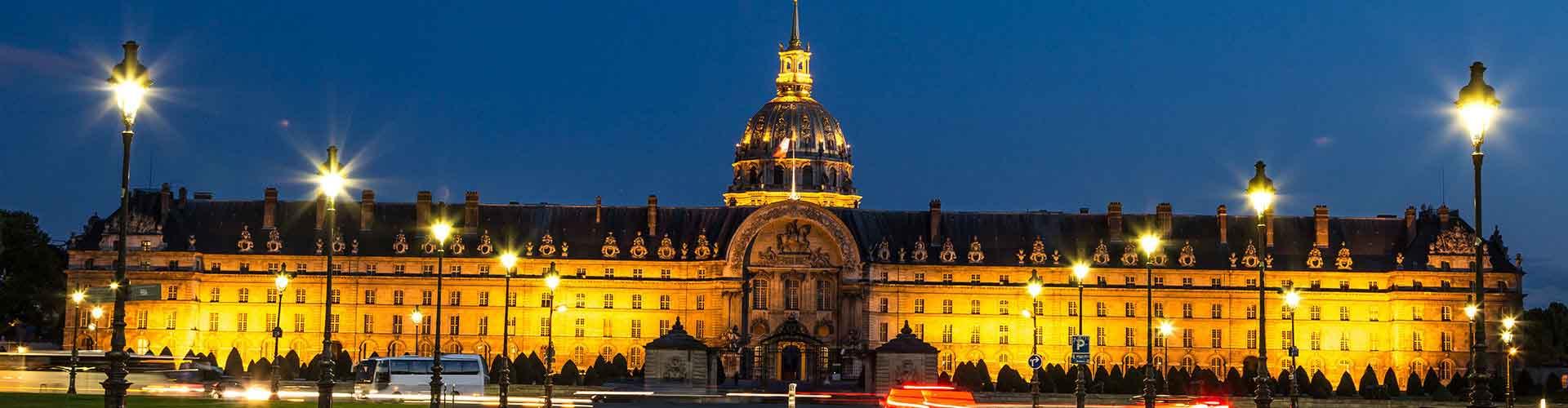 Paris – Albergues próximos a Les Invalides. Mapas para Paris, Fotos e Avaliações para cada Albergue em Paris.