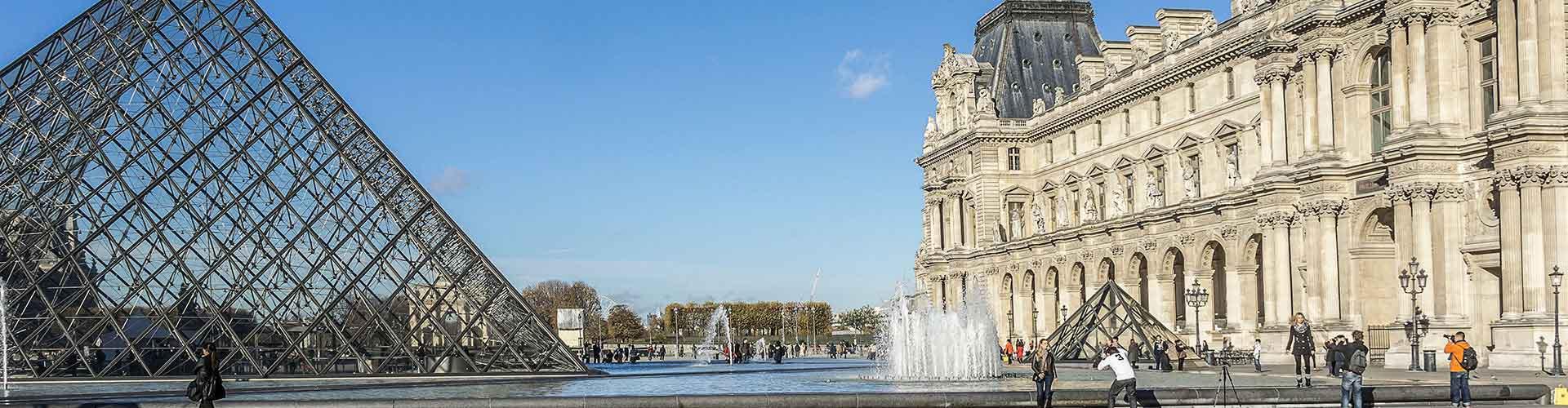 Paris – Albergues próximos a Louvre. Mapas para Paris, Fotos e Avaliações para cada Albergue em Paris.