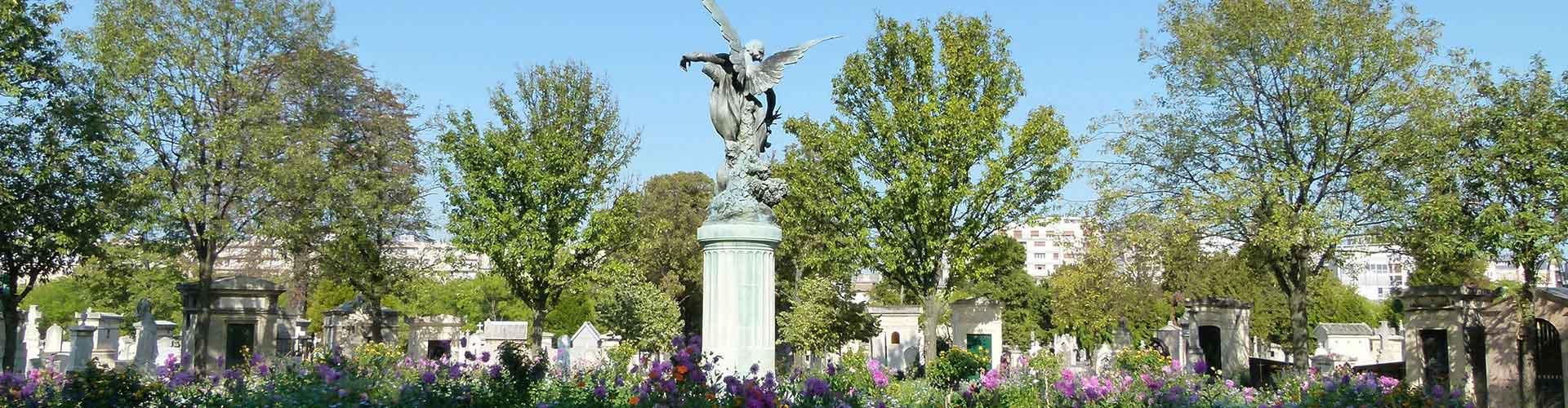 Paris – Albergues próximos a Montparnasse Cemetery. Mapas para Paris, Fotos e Avaliações para cada Albergue em Paris.