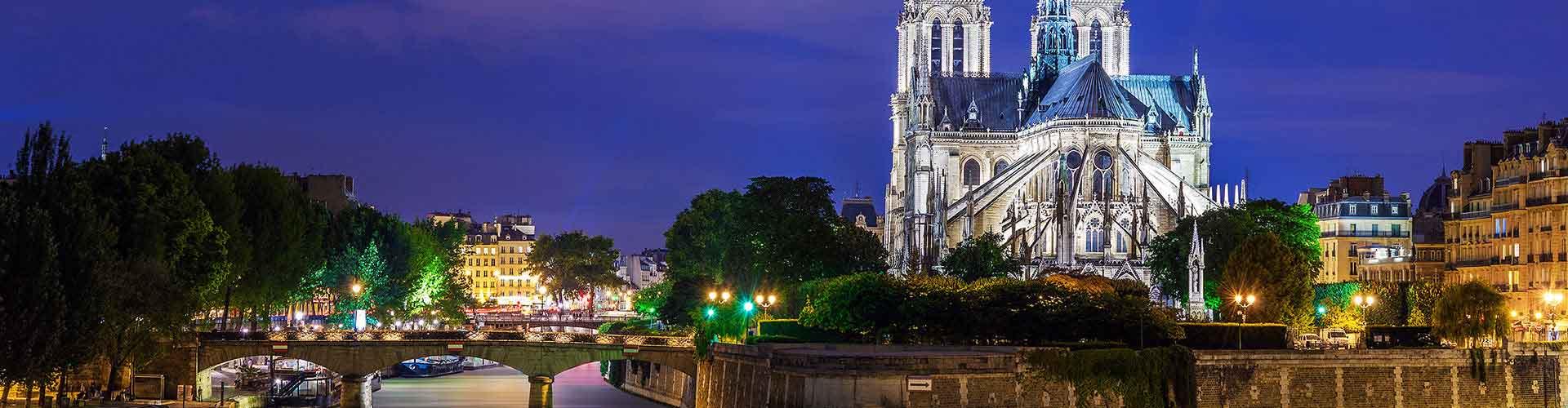 Paris – Albergues próximos a Notre Dame de Paris. Mapas para Paris, Fotos e Avaliações para cada Albergue em Paris.