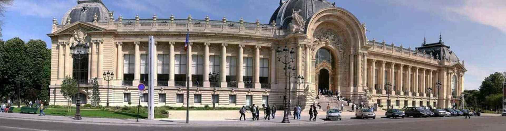 Paris – Albergues próximos a Petit Palais. Mapas para Paris, Fotos e Avaliações para cada Albergue em Paris.