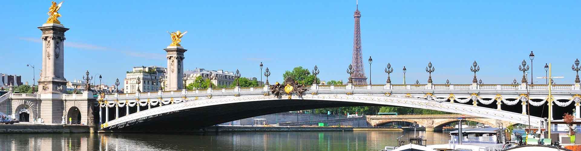 Paris – Albergues próximos a Pont Alexandre III. Mapas para Paris, Fotos e Avaliações para cada Albergue em Paris.