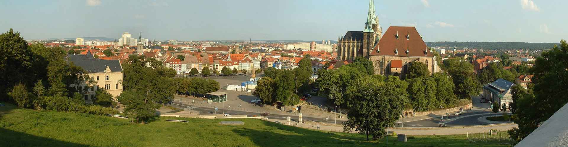 Erfurt – Albergues em Erfurt. Mapas para Erfurt, Fotos e Avaliações para cada Albergue em Erfurt.