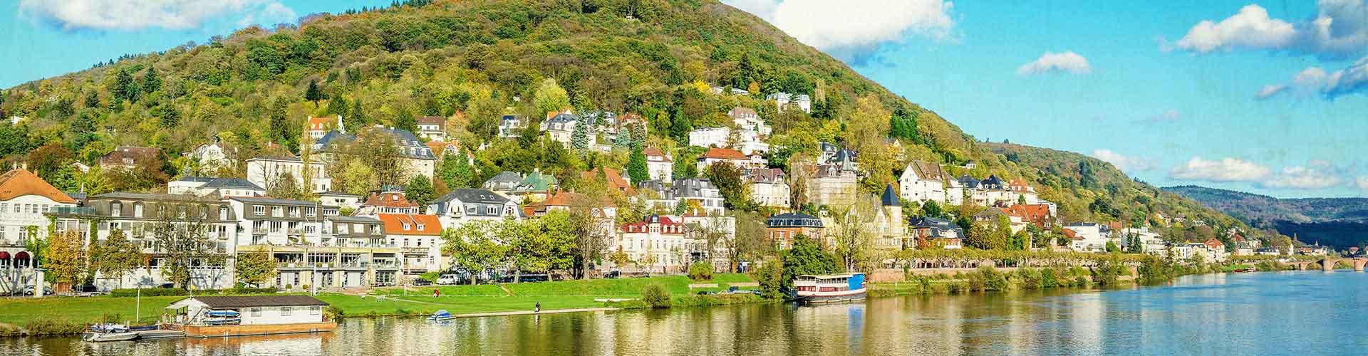 Heidelberg – Albergues em Heidelberg. Mapas para Heidelberg, Fotos e Avaliações para cada Albergue em Heidelberg.