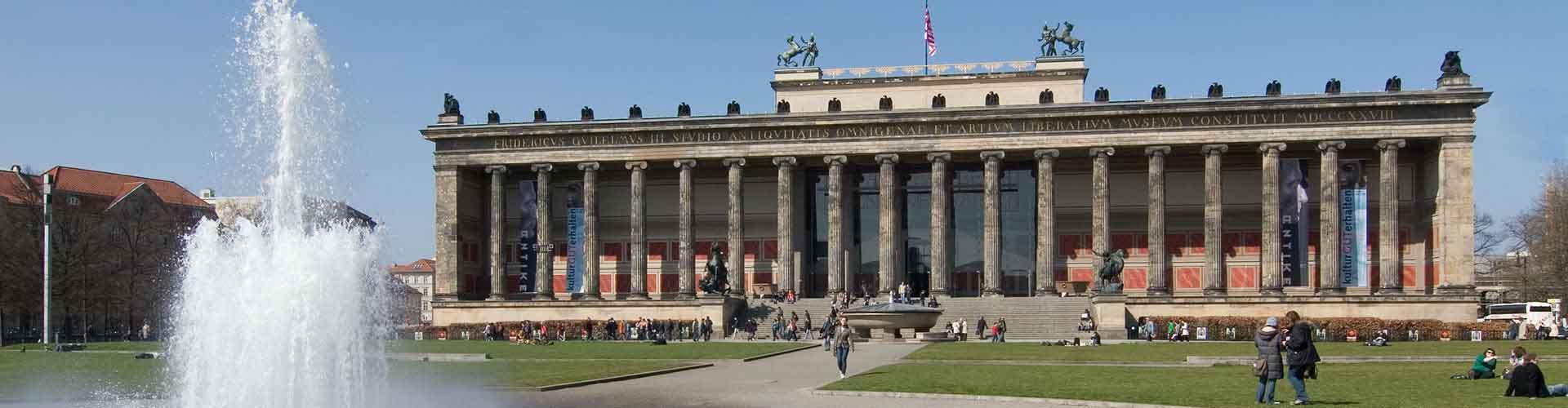 Berlim – Albergues próximos a Altes Museum e Pergamon-Museum. Mapas para Berlim, Fotos e Avaliações para cada Albergue em Berlim.