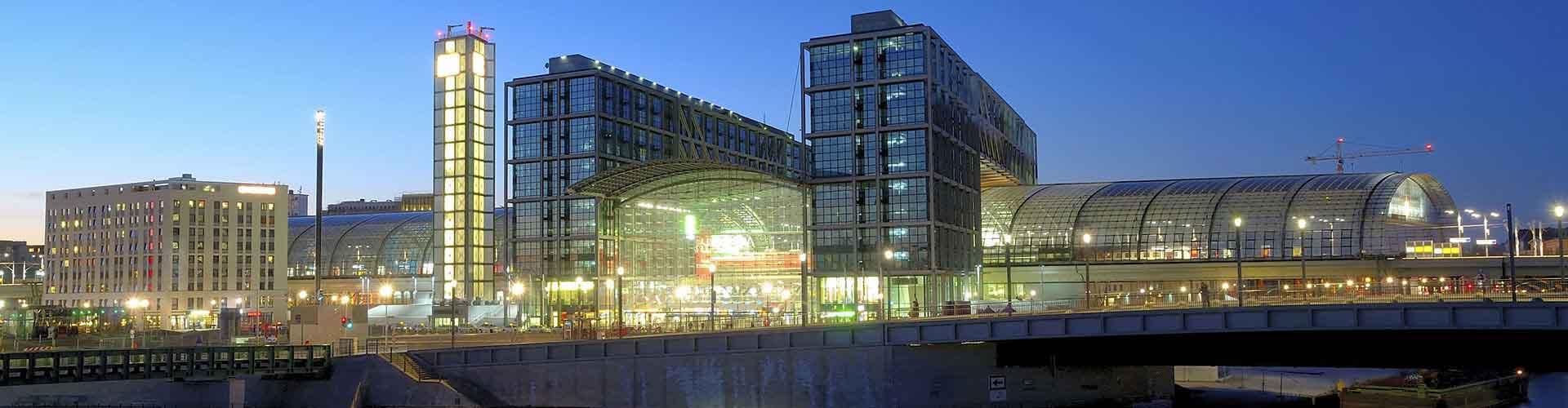 Berlim – Albergues próximos a Berlin Hauptbahnhof. Mapas para Berlim, Fotos e Avaliações para cada Albergue em Berlim.