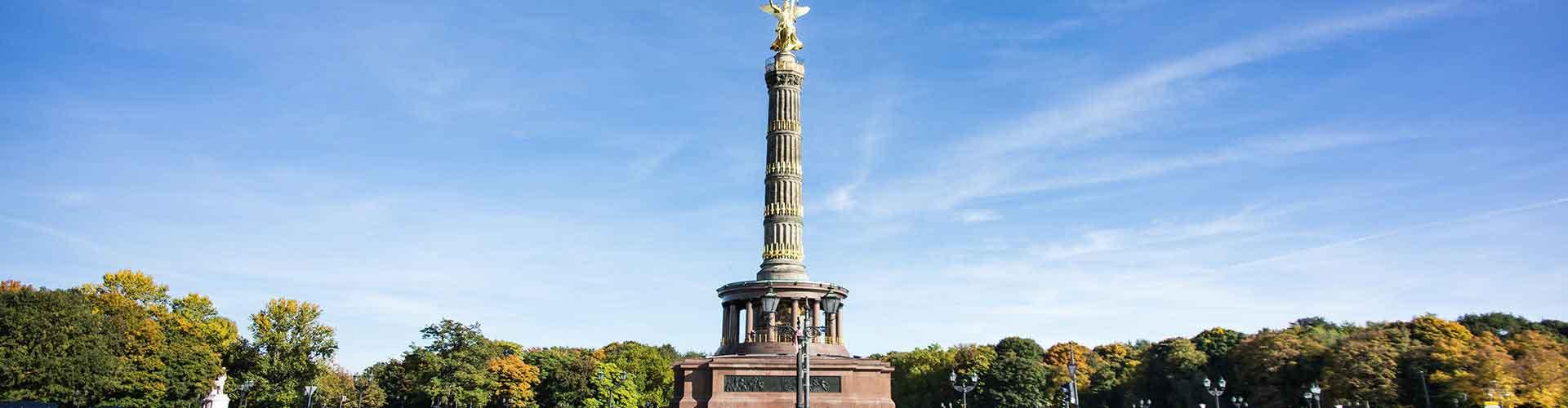 Berlim – Albergues próximos a Berlin Coluna da Vitória. Mapas para Berlim, Fotos e Avaliações para cada Albergue em Berlim.