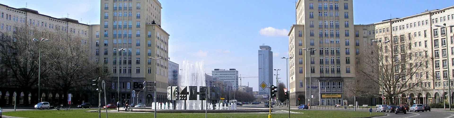 Berlim – Albergues próximos a Karl-Marx-Allee. Mapas para Berlim, Fotos e Avaliações para cada Albergue em Berlim.