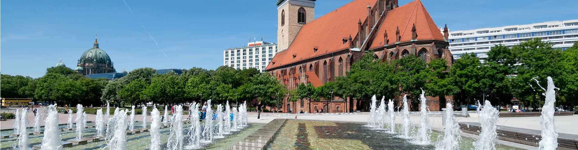 Berlim – Albergues próximos a Marienkirche. Mapas para Berlim, Fotos e Avaliações para cada Albergue em Berlim.