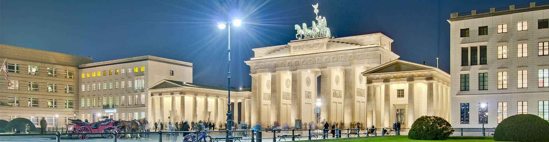 Berlim – Albergues próximos a Pariser Platz. Mapas para Berlim, Fotos e Avaliações para cada Albergue em Berlim.