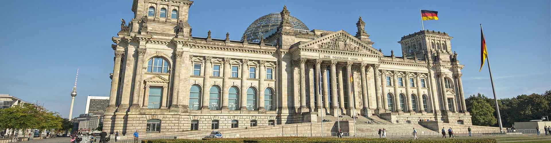 Berlim – Albergues próximos a Reichstag. Mapas para Berlim, Fotos e Avaliações para cada Albergue em Berlim.