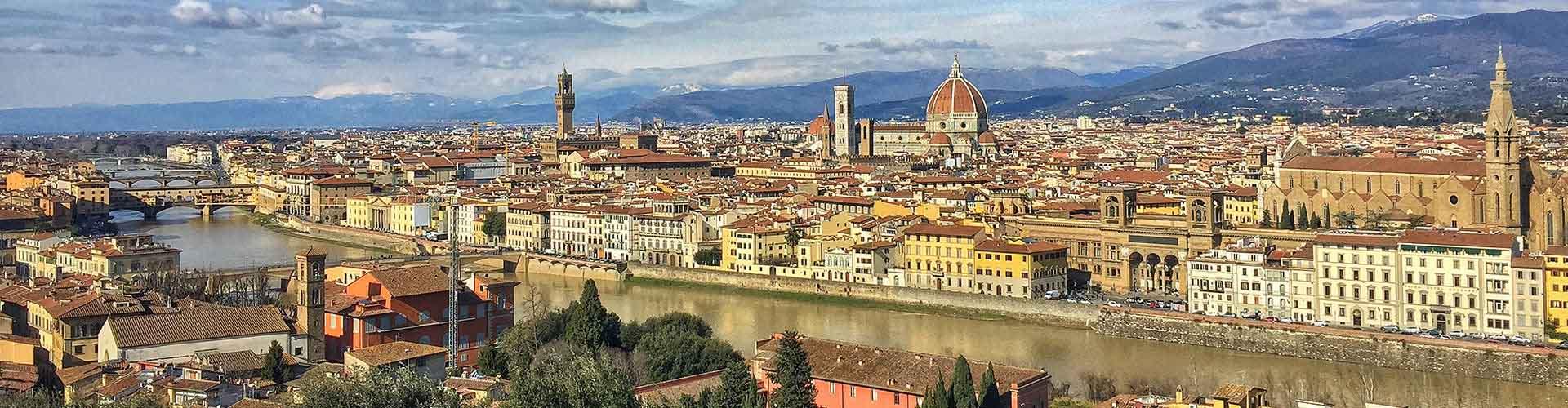 Florence – Albergues no bairro de Duomo - Oltrarno . Mapas para Florence, Fotos e Avaliações para cada Albergue em Florence.