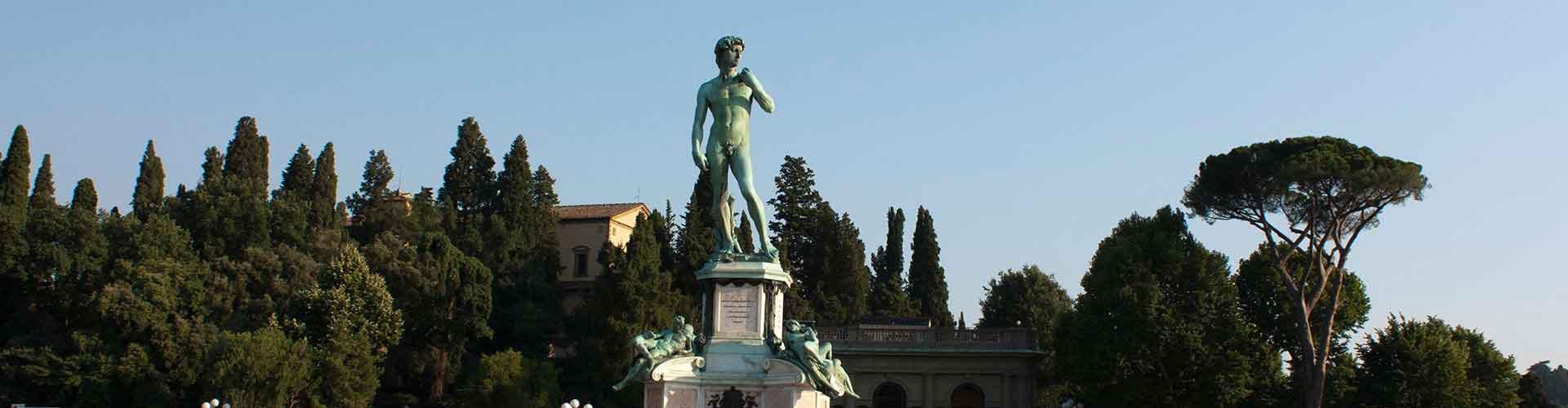 Florence – Albergues no bairro de Piazzale Michelangelo . Mapas para Florence, Fotos e Avaliações para cada Albergue em Florence.