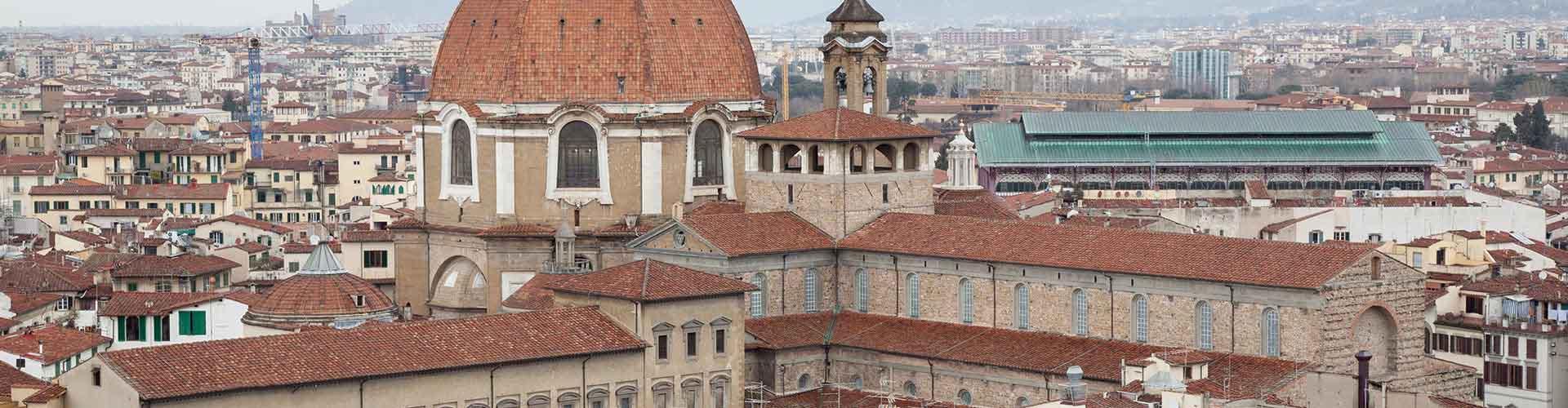 Florence – Albergues no bairro de San Lorenzo . Mapas para Florence, Fotos e Avaliações para cada Albergue em Florence.