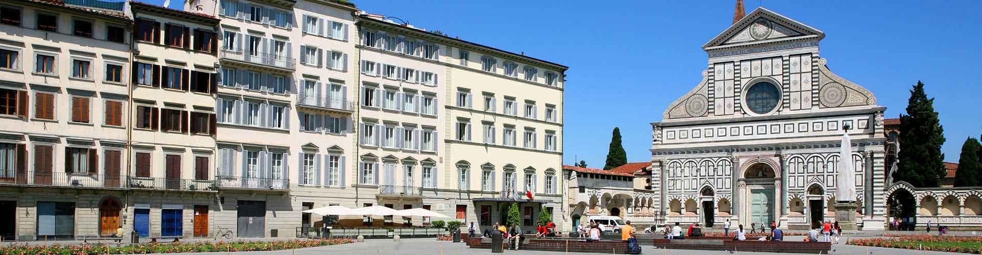 Florence – Albergues no bairro de Santa Maria Novella . Mapas para Florence, Fotos e Avaliações para cada Albergue em Florence.