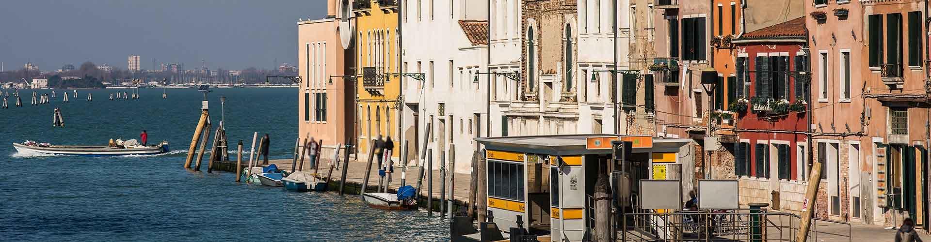 Veneza – Albergues no bairro de Sestiere Cannaregio . Mapas para Veneza, Fotos e Avaliações para cada Albergue em Veneza.