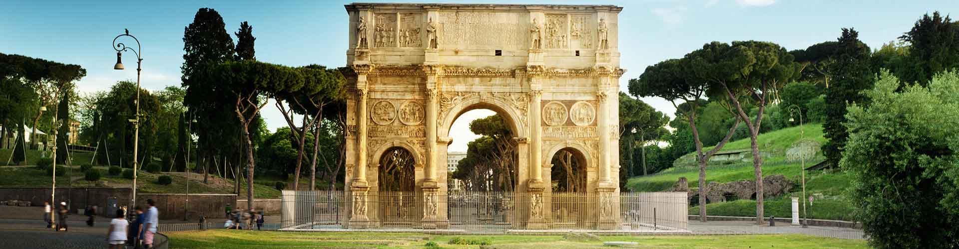 Roma – Albergues próximos a Arco de Constantino. Mapas para Roma, Fotos e Avaliações para cada Albergue em Roma.