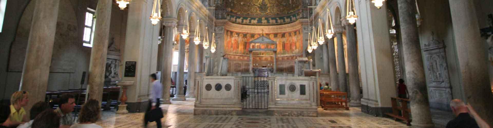 Roma – Albergues próximos a Basilica di San Clemente. Mapas para Roma, Fotos e Avaliações para cada Albergue em Roma.