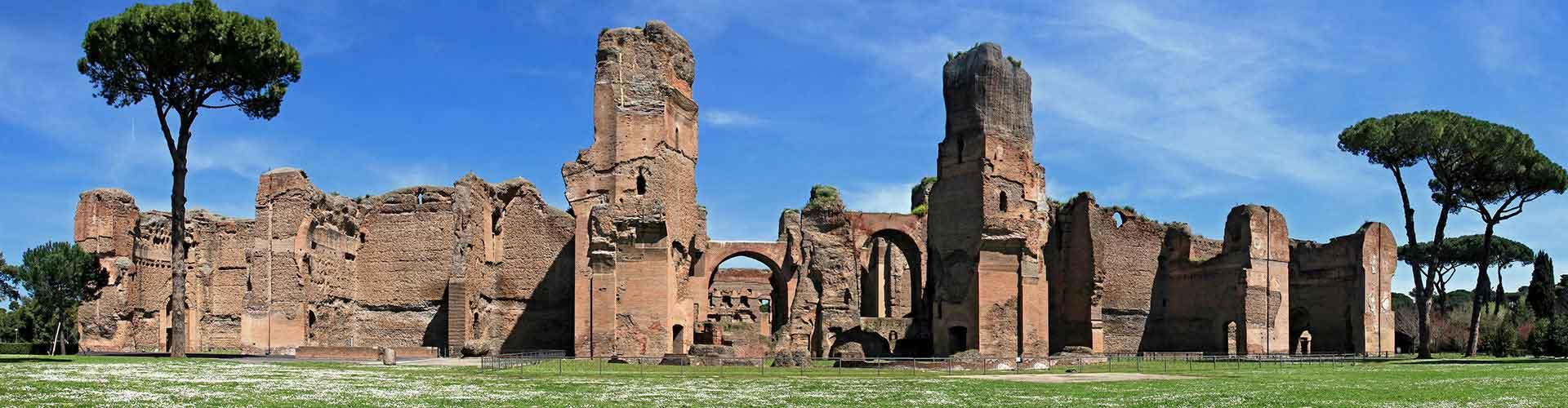 Roma – Albergues próximos a Termas de Caracalla. Mapas para Roma, Fotos e Avaliações para cada Albergue em Roma.